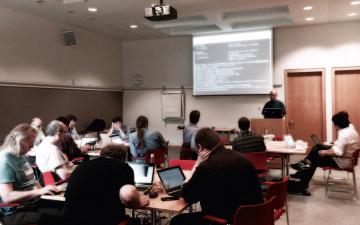 IIPC Hackathon, Day 1.