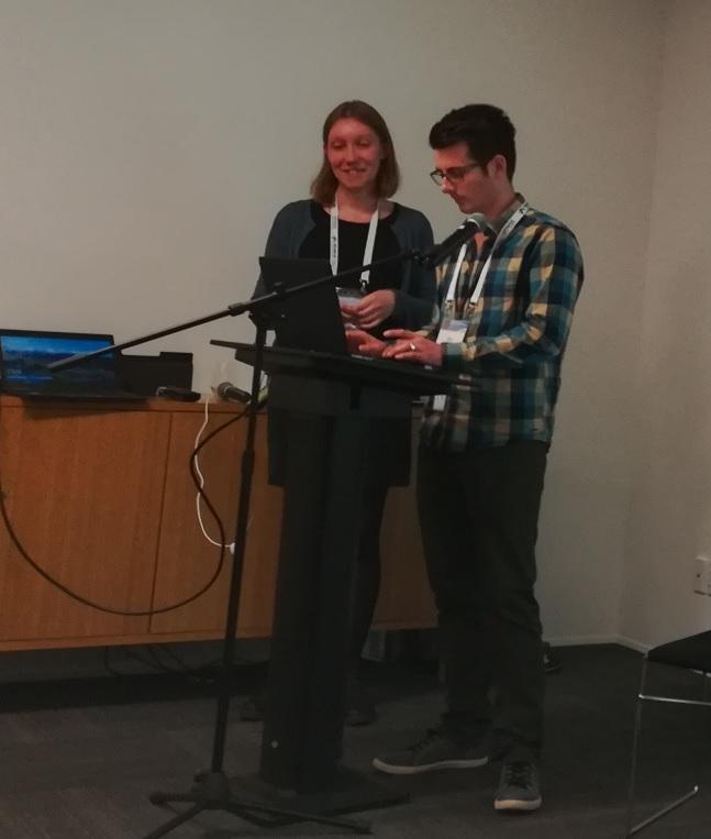 Hanna Koppelaar, KB & Ben O'Brien, NLNZ. IIPC WAC 2018.