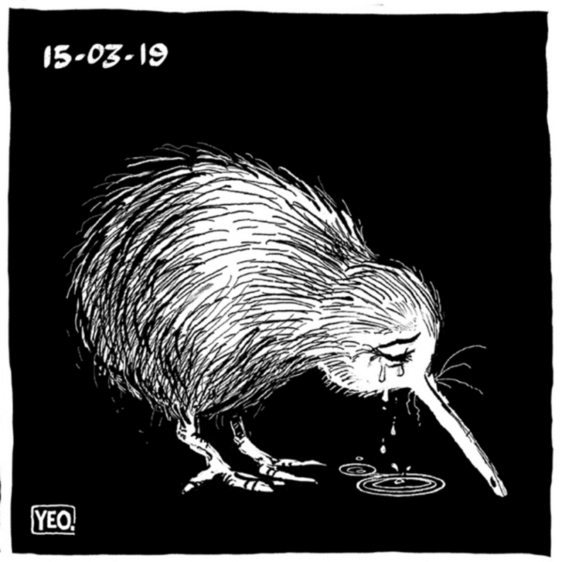 Shaun Yeo: Crying Kiwi